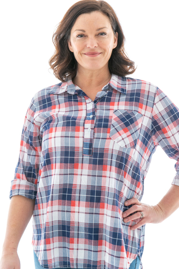 Sadie Checked Shirt