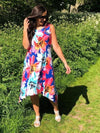 Leah Floral Sleeveless Dress