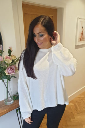 Lace Back Jumper Bridget