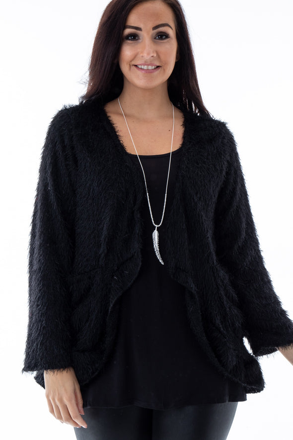 Finley Frill Cardigan - Tilletts Clothing