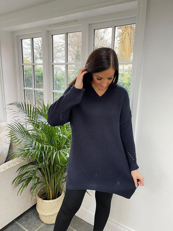 Chunky Knitted Jumper Claire