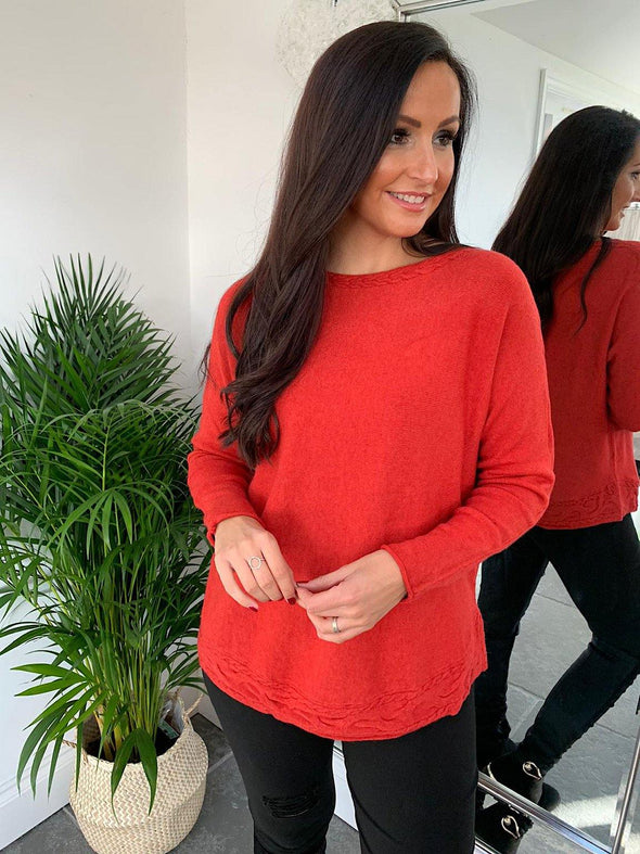Cable Hem Katy Jumper