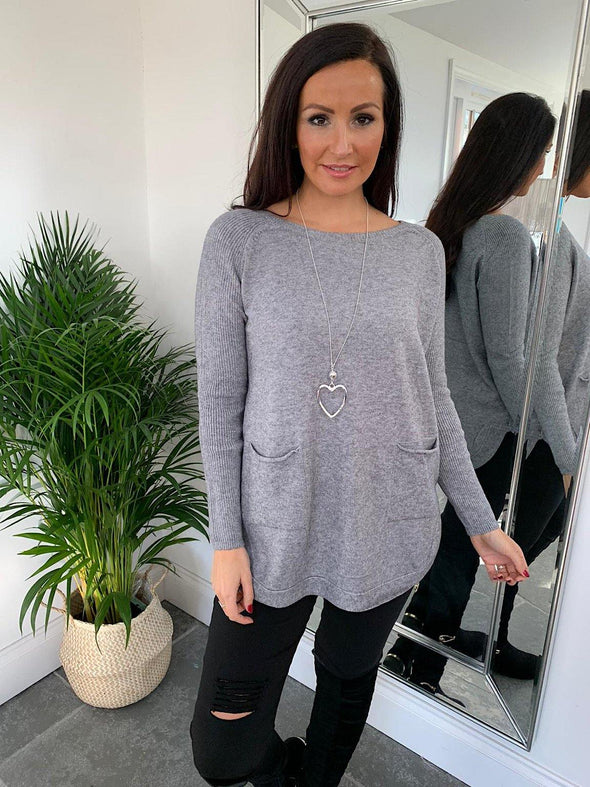 Two Pocket Soft Jumper Kerry