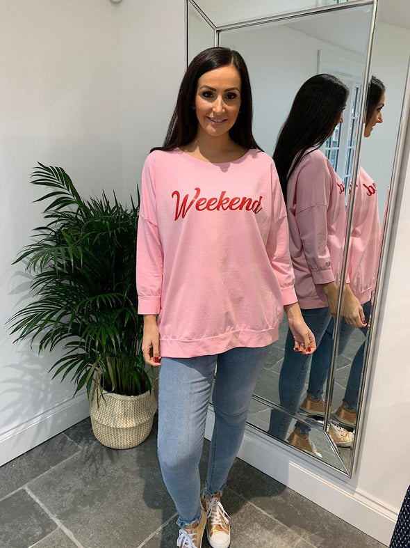 Weekend Sweatshirt Gabby