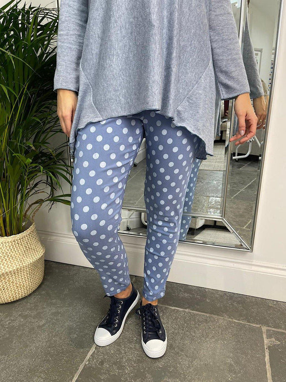 Polka Dot Cargo Trousers