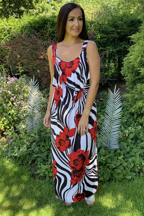 Laurel Swirly Maxi Dress