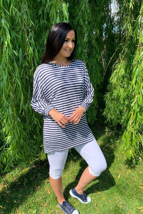 Taya Stripe Top