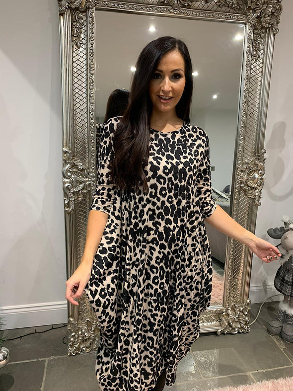 Leopard Harmony Dress