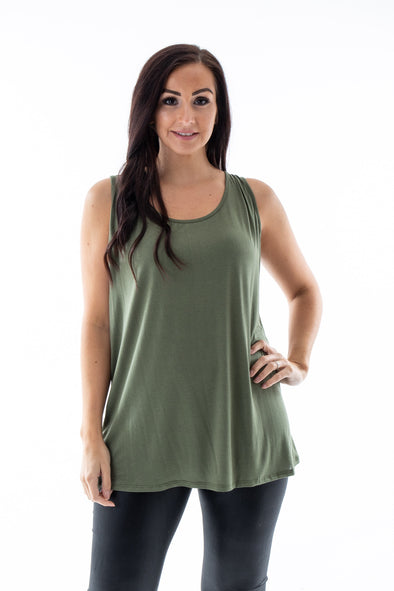 Ivy Basic Vest - Tilletts Clothing (4259838787697)