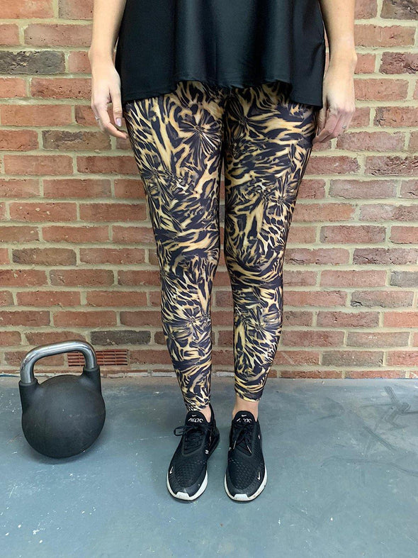 Active Leggings Tiger