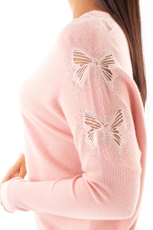 Macy Bow Detail Jumper *ONLINE ONLY*