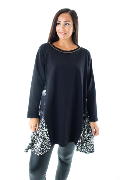 Loretta Side Panel Top - Tilletts Clothing (4016866164849)