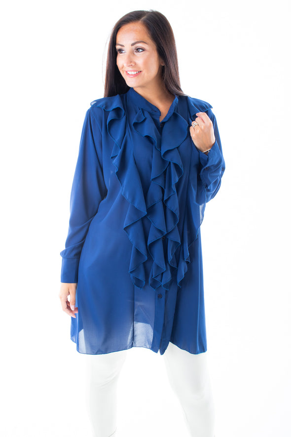 Rosemary Ruffle Blouse - Tilletts Clothing (4016766976113)