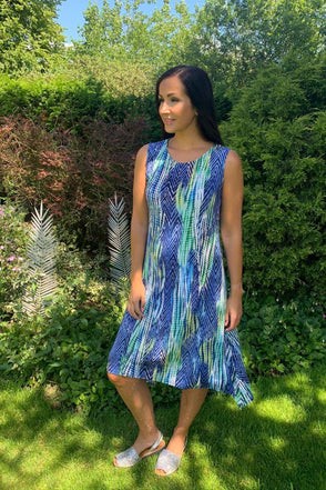 Tribal Print Leah Dress