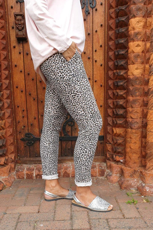 Ditsy Animal Cargo Trousers