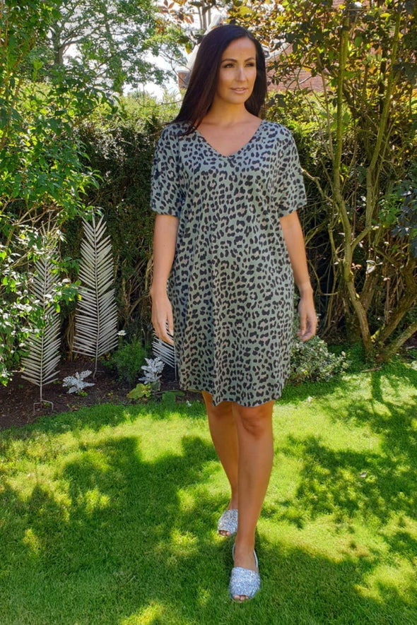 Lexie Leopard Dress