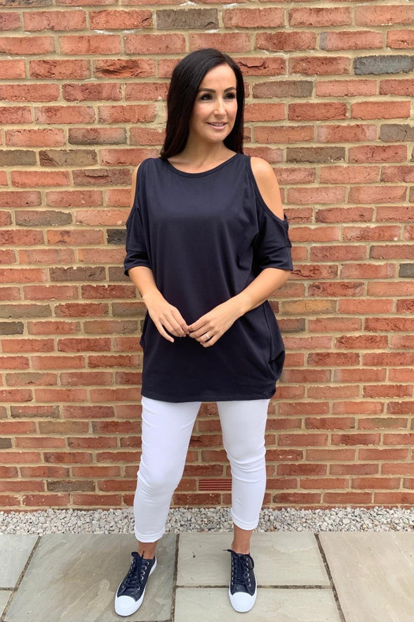 Coco Cold Shoulder Top