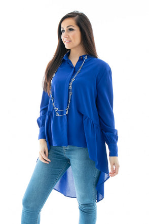 Polly Peplum Shirt