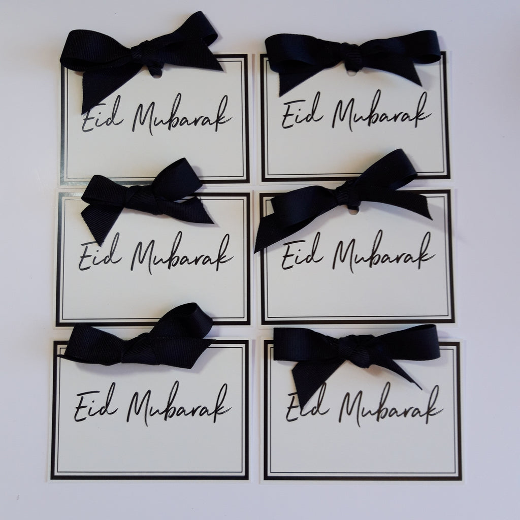 Luxury Eid Mubarak Gift tags