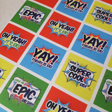 Comic Book Eid Wrapping paper