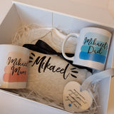 Boys Personalised Baby Box + Contents