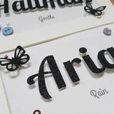 Girls Personalised Name Frame