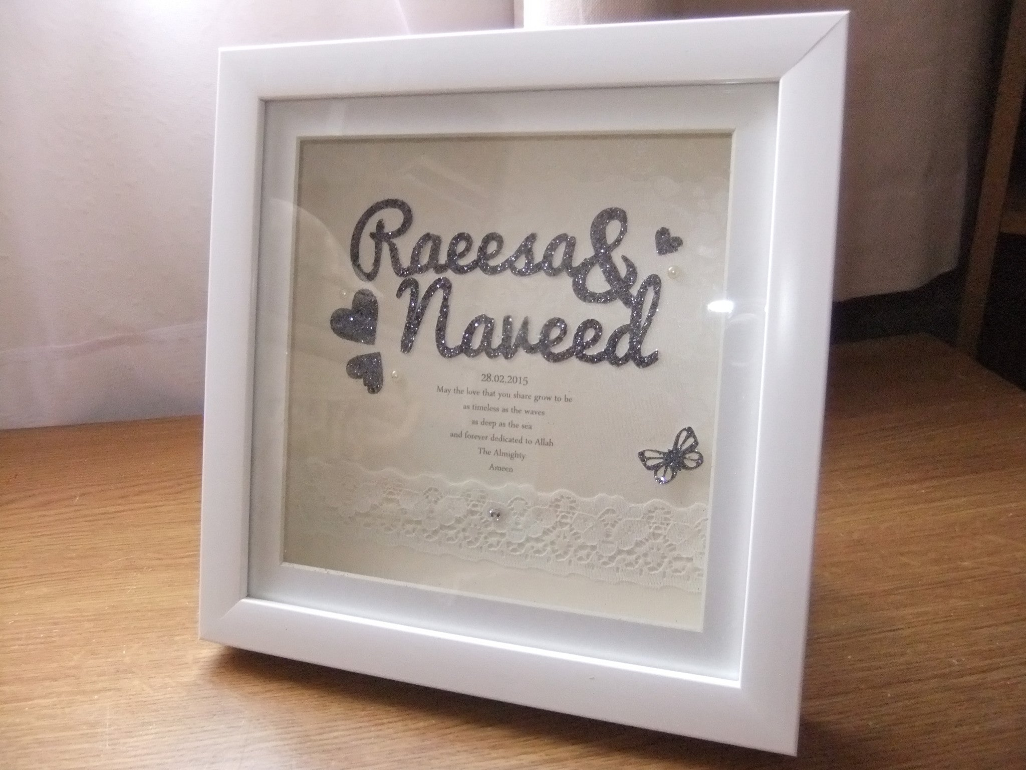 Timeless Wedding Frame