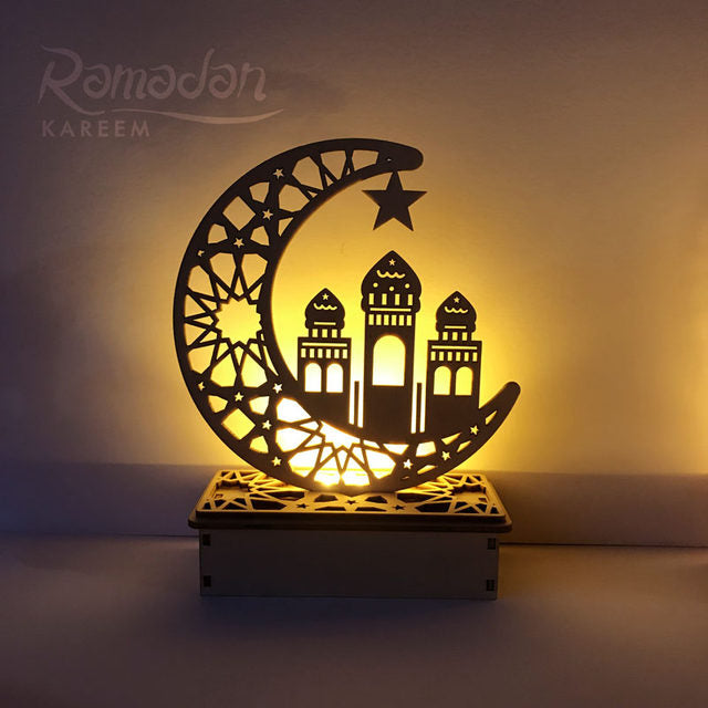 Ramadan Crescent Light