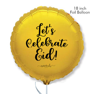 18 INCH Gold Foil Eid Balloon