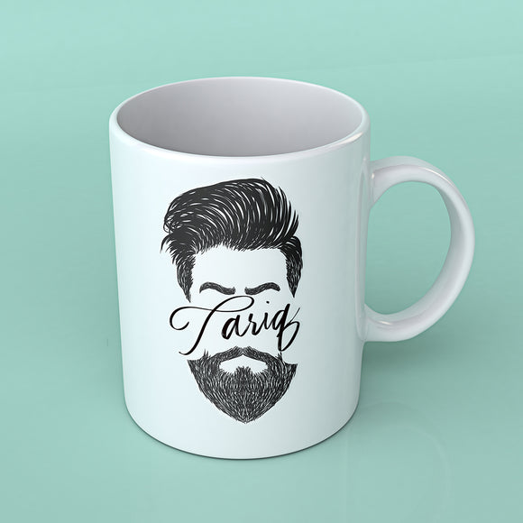 Bearded Mug - Personalised