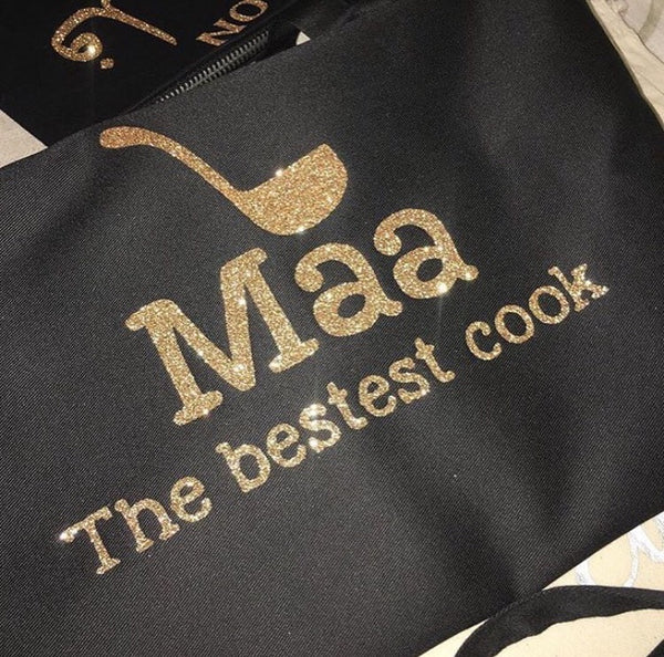 Mama the best cook Apron