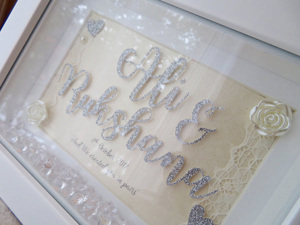 Sparkle Wedding Frame