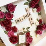 Scrabble Name Frame