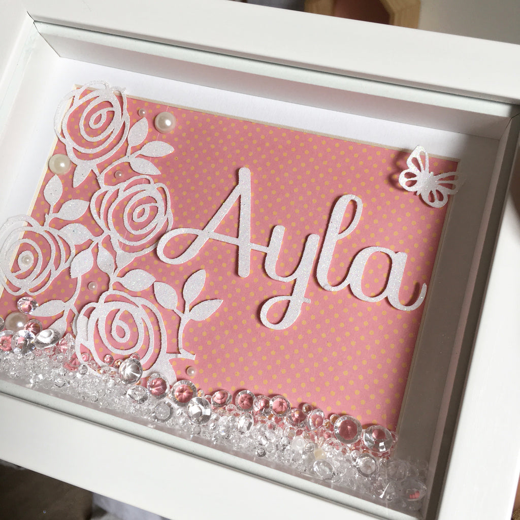 Rose Personalised Frame