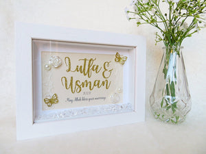 Sparkle Wedding Frame - Landscape