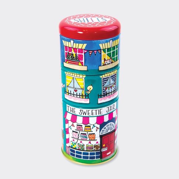 Stacking Tins - Sweet Shop