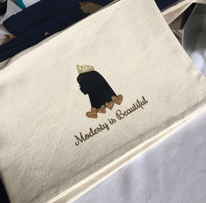 Modesty is Beautiful pouch