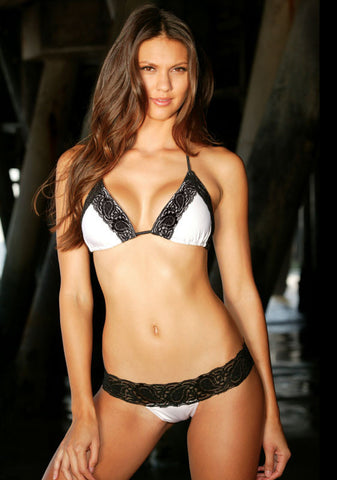 LT Solid Lace Swimwear