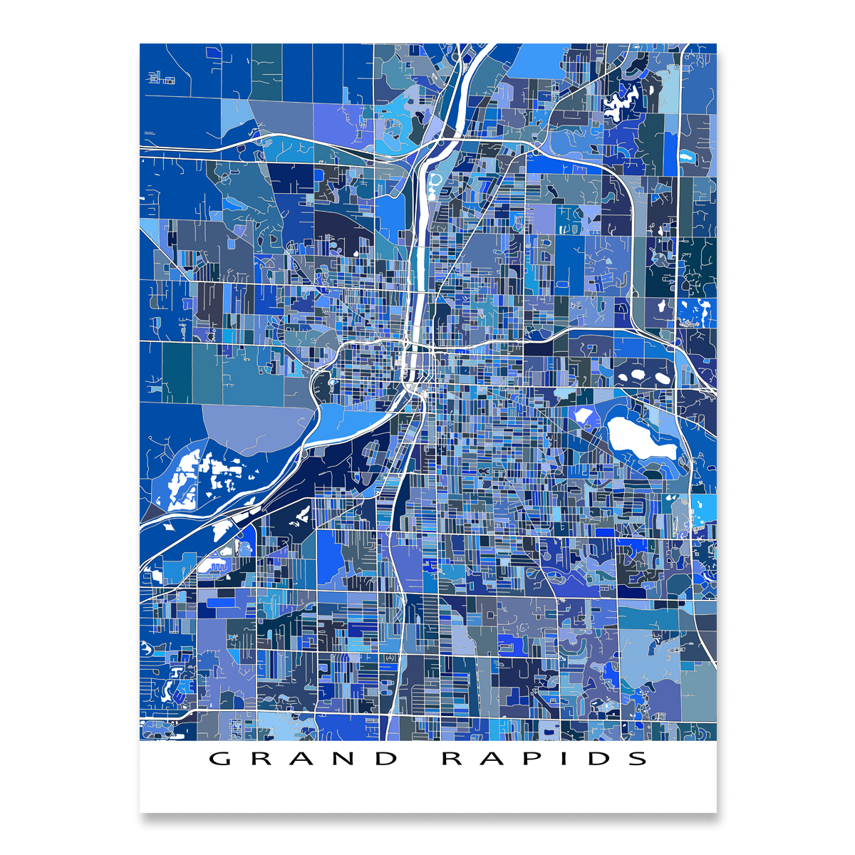 Grand Rapids Map Print, Michigan, USA on people of michigan, saginaw michigan, state parks upper peninsula michigan, thumb of michigan, northern michigan, white lake michigan, ellsworth michigan, major cities in michigan, all cities in michigan, battle creek michigan, lower peninsula of michigan, branch county michigan, tawas point lighthouse michigan, largest inland lake in michigan, shape of michigan, silver lake michigan, lansing michigan, troy michigan, wildlife of michigan, allenton michigan,