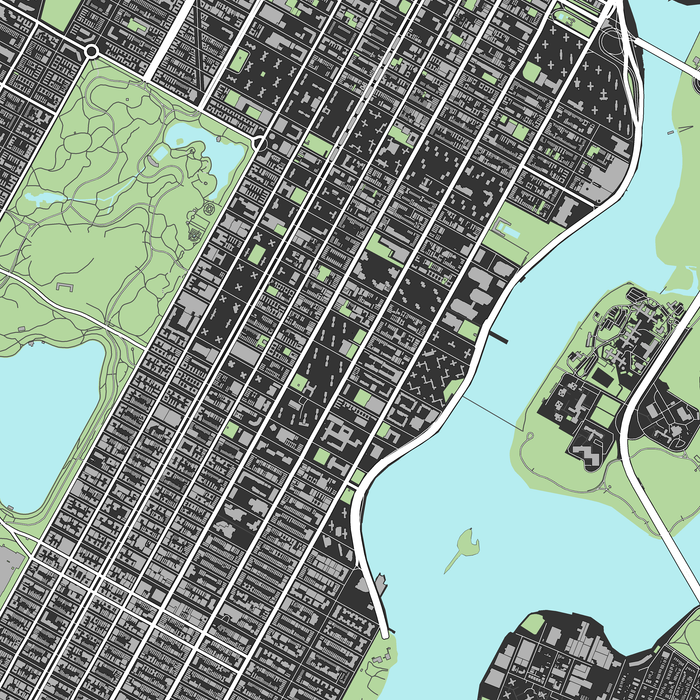 This is a picture of Printable Maps of Manhattan in travel