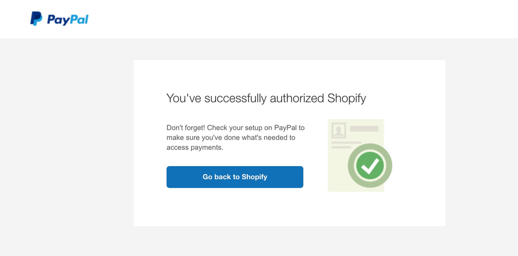 paypal success new
