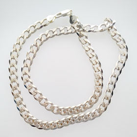 Sterling Silver Curb Chain XL