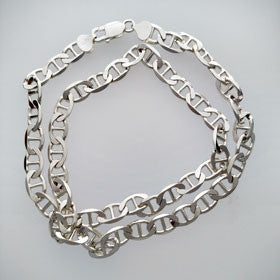 Sterling Silver Anchor Chain Heavy