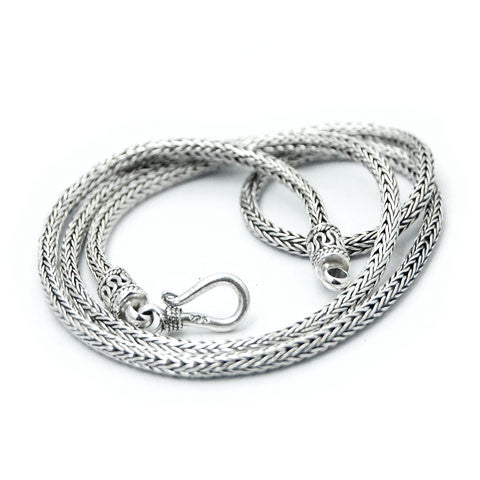 Chain Weave Sterling Silver