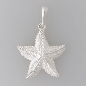 Sterling Silver Fat Starfish Pendant