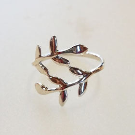 Sterling Silver Vine Wrap Ring