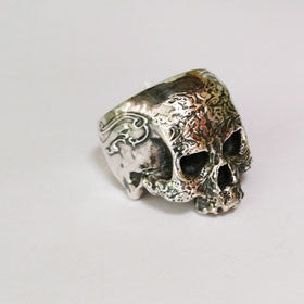 Sterling Silver Pirate Storm Ring