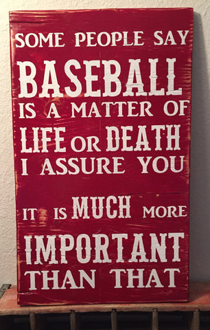 Baseball Sign, Hand painted signs, Wooden Signs, Custom wooden Signs, personalized wooden signs, Rustic Signs, Sports Signs