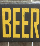 Bar Signs, Free Beer Tomorrow, silly, bar, drinking signs, handmade, handpainted, craft, wood sign, free, beer, Man Cave Sign, Humor Sign