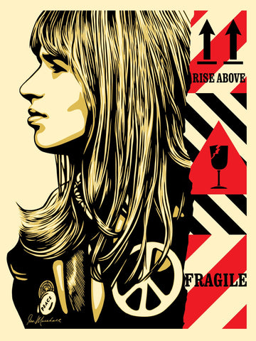 FRAGILE PEACE Signed & Numbered Screen Print